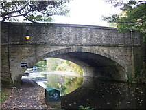 SE0922 : The Wakefield Road over the Halifax Arm Canal by Ian S