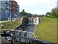 O1132 : Third lock, Grand Canal, Inchicore/Inse Chór by L S Wilson