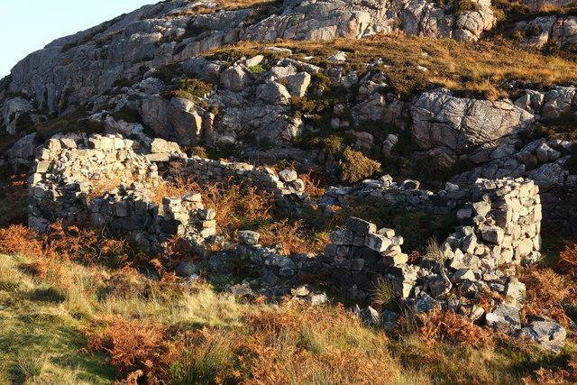 Shieling near Caol Rona