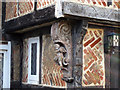 TQ5010 : Cherub Detail on The Old Cottage by Oast House Archive