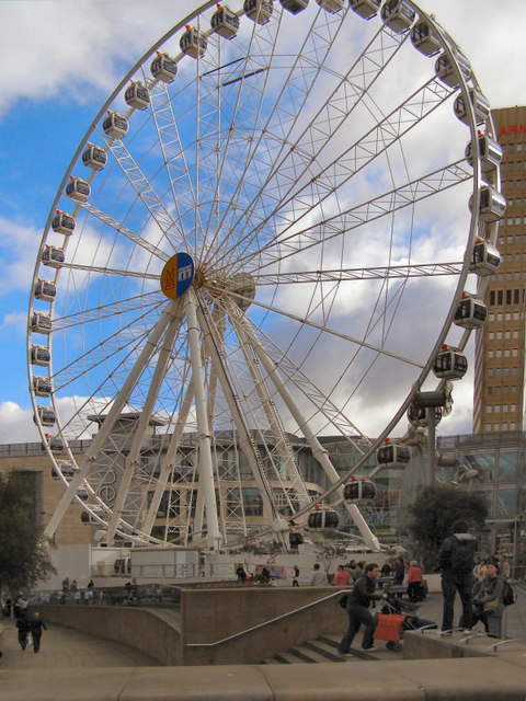 The Manchester Wheel, Exchange Square