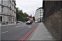 TQ2879 : London : Westminster - Lower Grosvenor Place A302 by Lewis Clarke