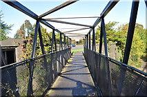 SK5802 : Bridge over the Midland Mainline by Ashley Dace
