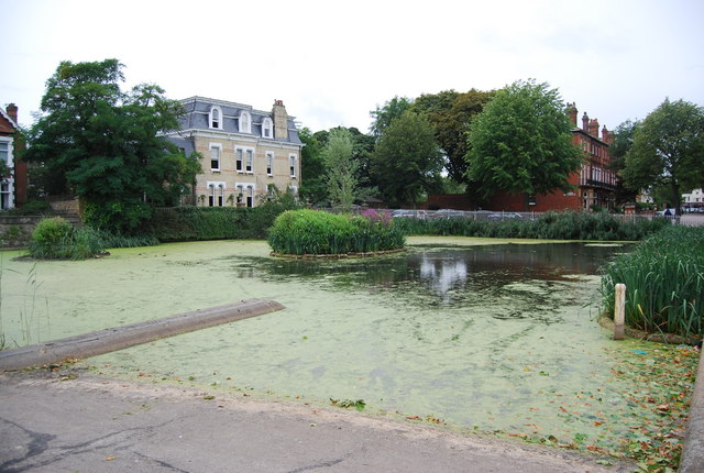 Ornamental pond, Kew Green