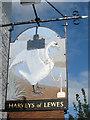 TQ4009 : Swan Inn sign by Oast House Archive