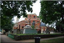 TQ1977 : Parish church of St Anne's, Kew by N Chadwick
