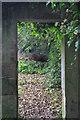 NZ2666 : Doorway-Jesmond Dene by peter maddison