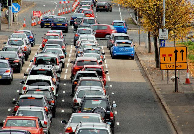 Middlepath Street traffic, Belfast