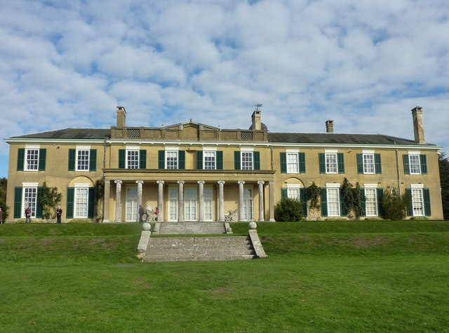 South elevation of Polesden Lacey