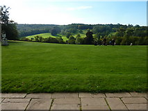 TQ1352 : View across the South Lawn from Polesden Lacey by pam fray