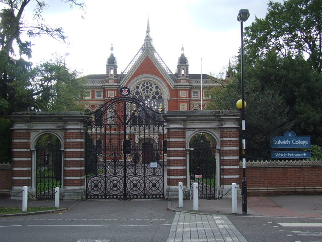 Dulwich College gates
