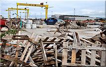 J3574 : Titanic Quarter site, Belfast by Albert Bridge