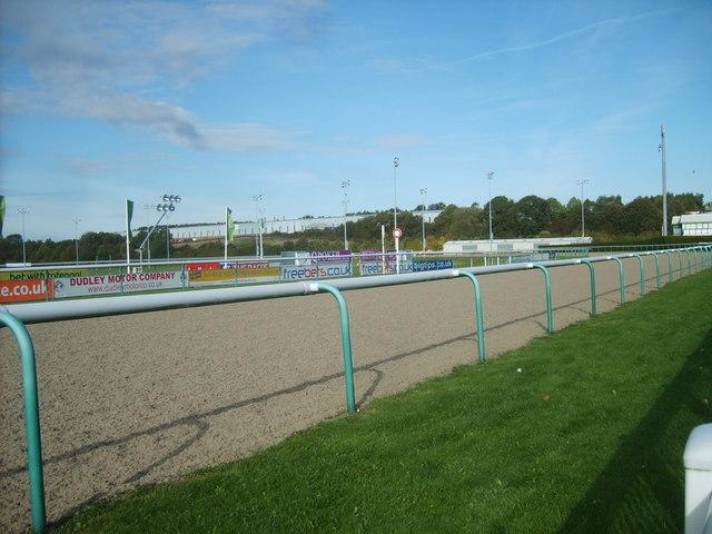 Dunstall Park Finishing Post