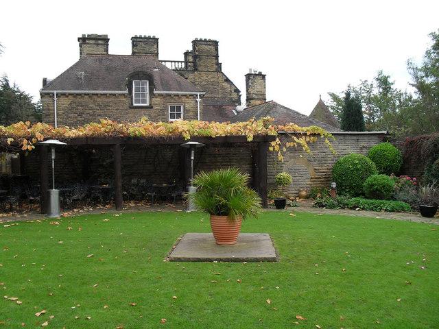 Wedding Garden at Kirkleavington Hall