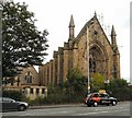SJ8496 : Unitarian Chapel on Upper Brook Street, Manchester by Gerald England