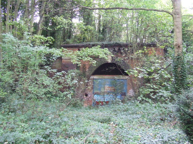 Closed railway tunnel, Upper Sydenham