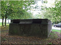 TQ3471 : Ventilation shaft, Sydenham Hill tunnel by Malc McDonald