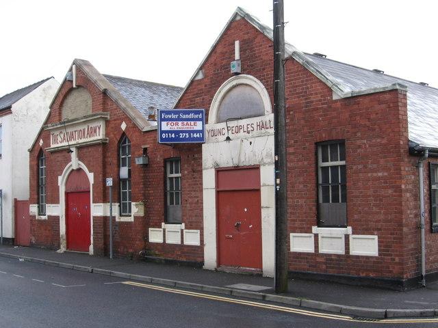 Kirkby-in-Ashfield - Salvation Army