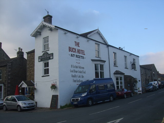 The Buck Hotel at Reeth
