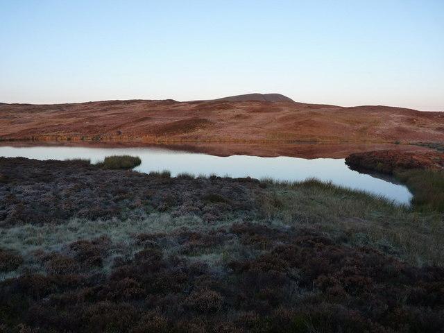 Llyn Foeldinas at dawn
