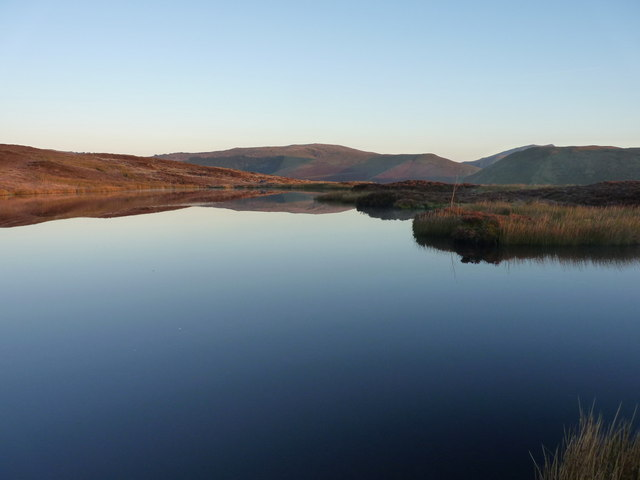 Reflections in Llyn Foeldinas