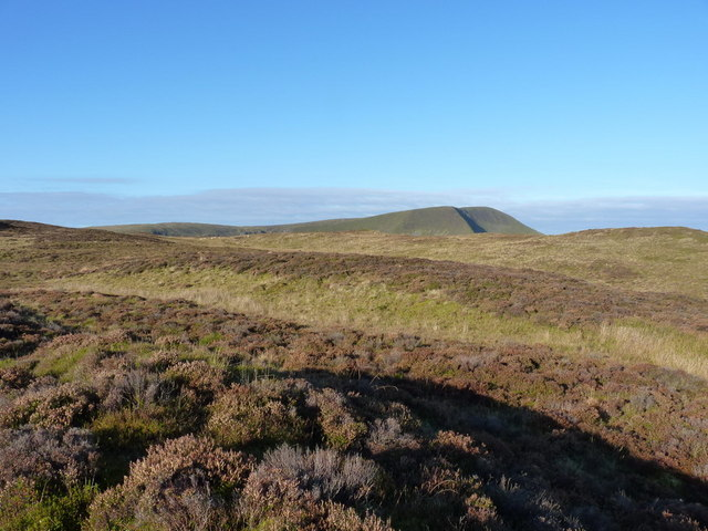 View WNW from Foel Dinas