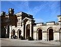 SP4416 : Blenheim Palace - Gift Shop by Paul Gillett