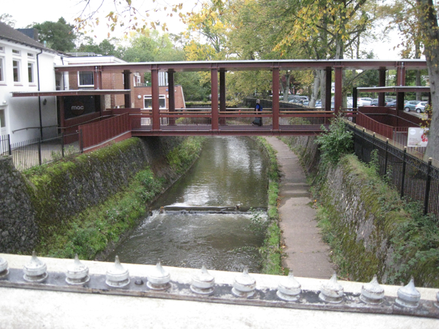 Footbridge to the Midlands Arts Centre