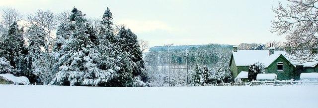 Winter at Twizell Mill