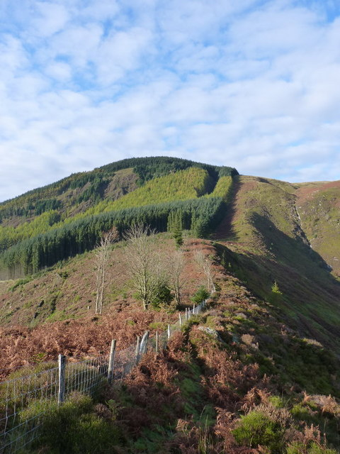 Bwlch Siglen from the ENE
