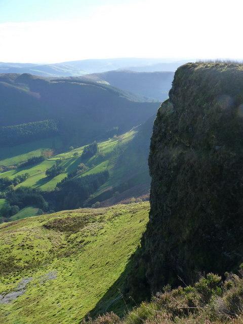 The steep part of Craig Maesglase