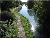 SO9394 : Birmingham Canal from Anchor Bridge by Alex McGregor