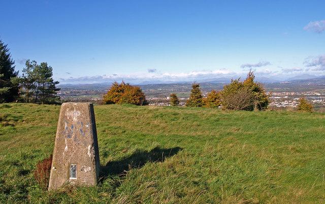 Triangulation Pillar, Gleniffer Braes Country Park