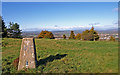 NS4460 : Triangulation Pillar, Gleniffer Braes Country Park by wfmillar