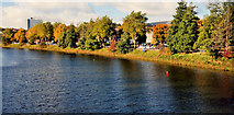 J3472 : The River Lagan at the Ormeau Bridge, Belfast by Albert Bridge