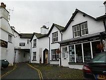 SD3598 : Vicarage Lane, Hawkshead by Keith Salvesen