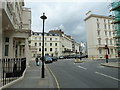 TQ2878 : Lamppost in Eaton Place by Basher Eyre