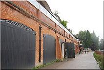 TQ1774 : Boathouses, Richmond by N Chadwick