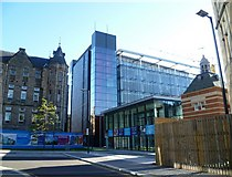 NT2572 : Quartermile Development, site of old Royal Infirmary by kim traynor
