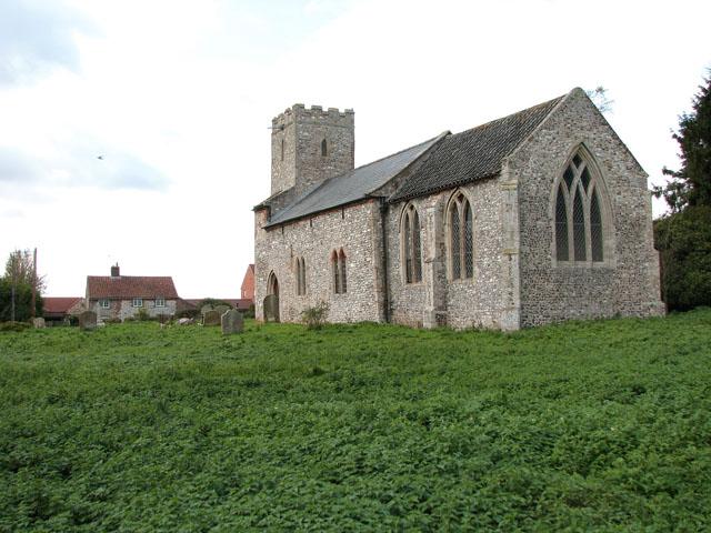 All Saints' church in Bircham Newton