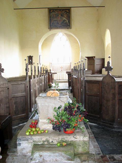 All Saints' church in Bircham Newton - view east