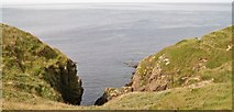 SH2035 : Small cove between Porth Ychain and Penrhyn Melyn by Eric Jones