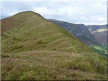 SH8517 : Bwlch yr Anges and Cwm Cywarch by Richard Law