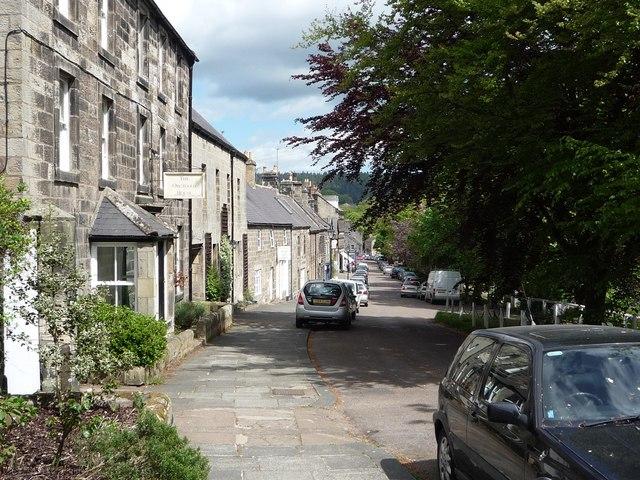 Rothbury High Street