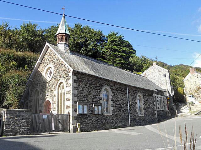 Portloe church