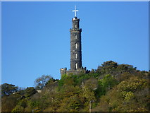 NT2674 : Nelson Monument from the Canongate by kim traynor