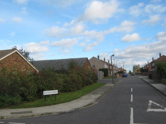 Matlock Gardens  Billingham