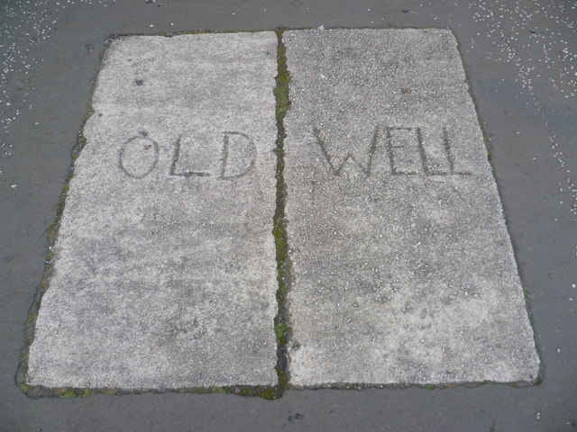 Site of an old well in the Canongate