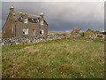 NB3549 : Old house at Barabhas by John Allan