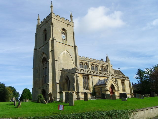 The Church of St James the Great, Aslackby